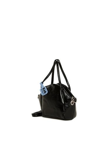 Bagmori  Kadın İnce Askılı Çıtçıtlı Mini Çanta M000006074 Siyah